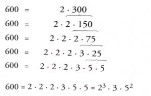 factors of 600